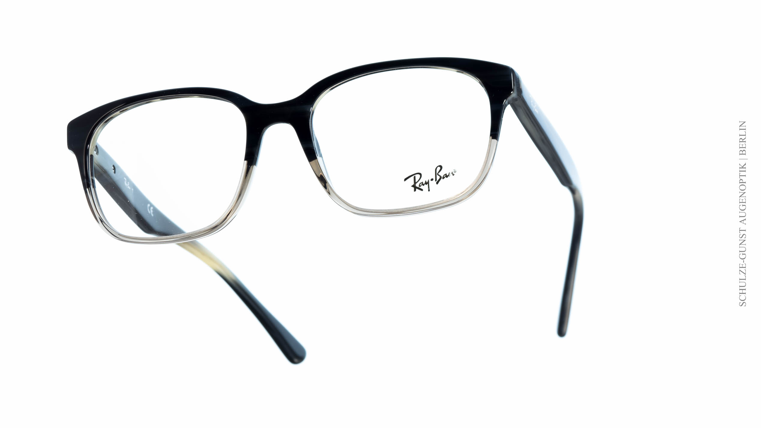 ray ban brille schwarz transparent