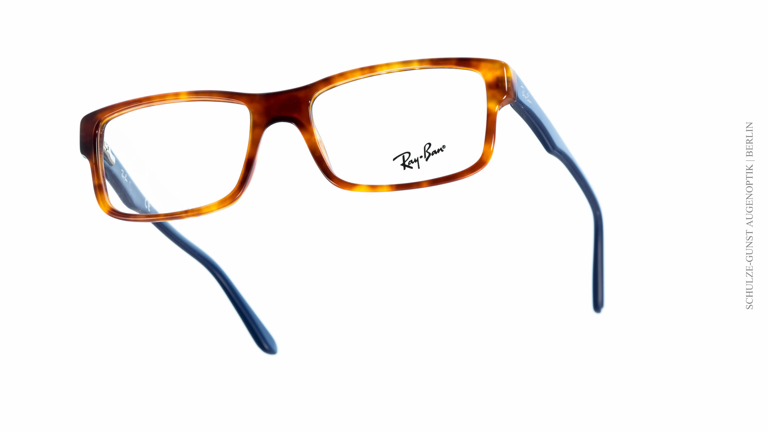 ray ban brillen blau