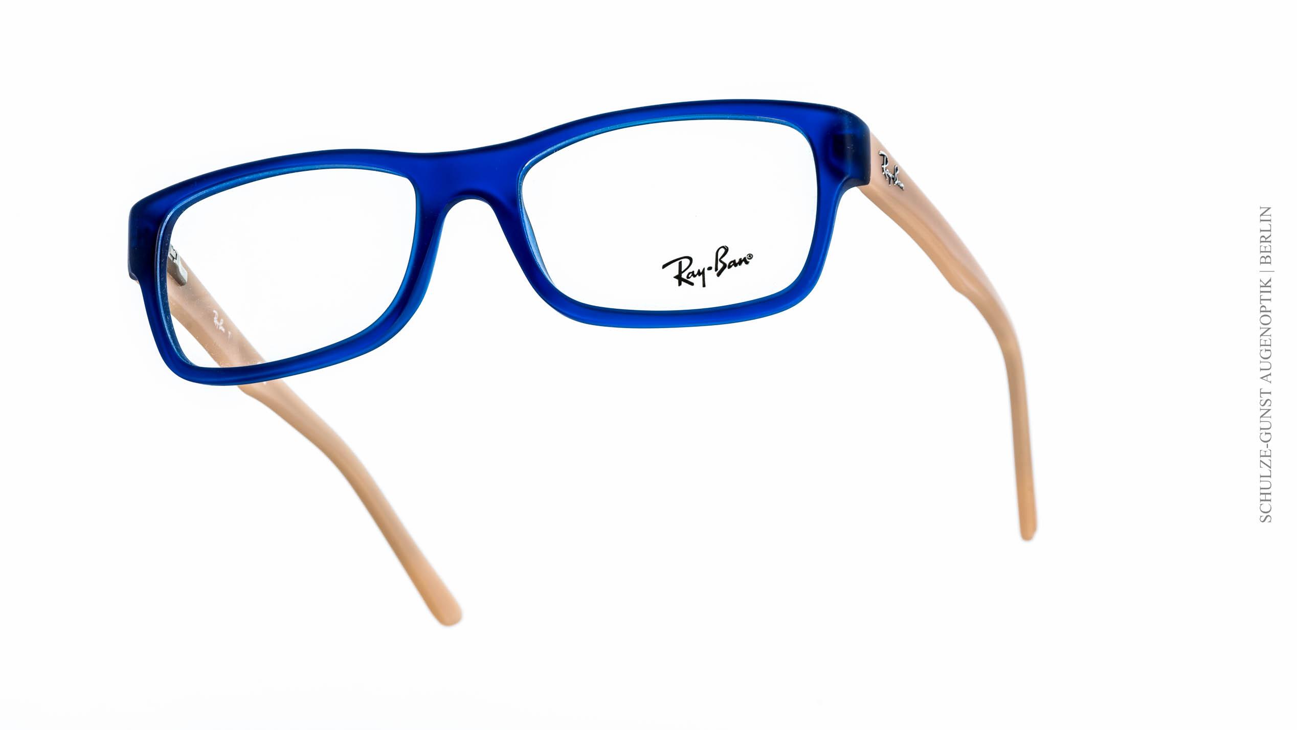 ray ban brille blaue bügel