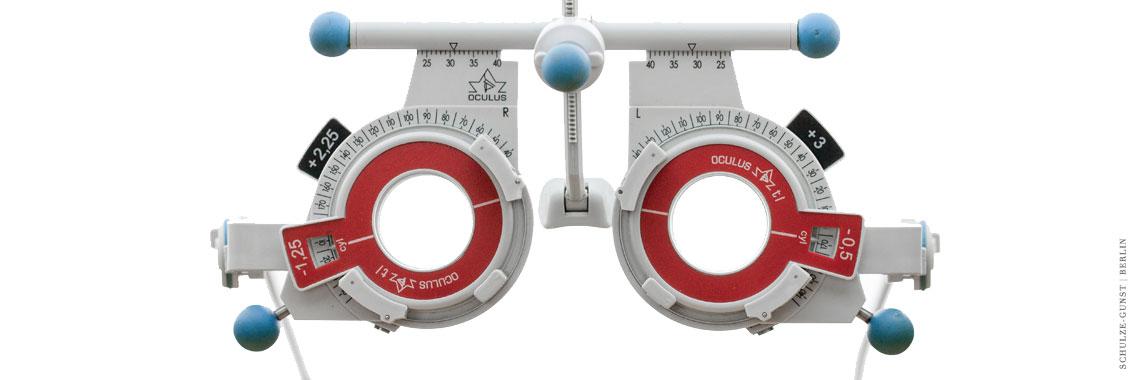 Optiker: Augenprüfung bei Schulze-Gunst Augenoptik in Berlin Lichterfelde-West