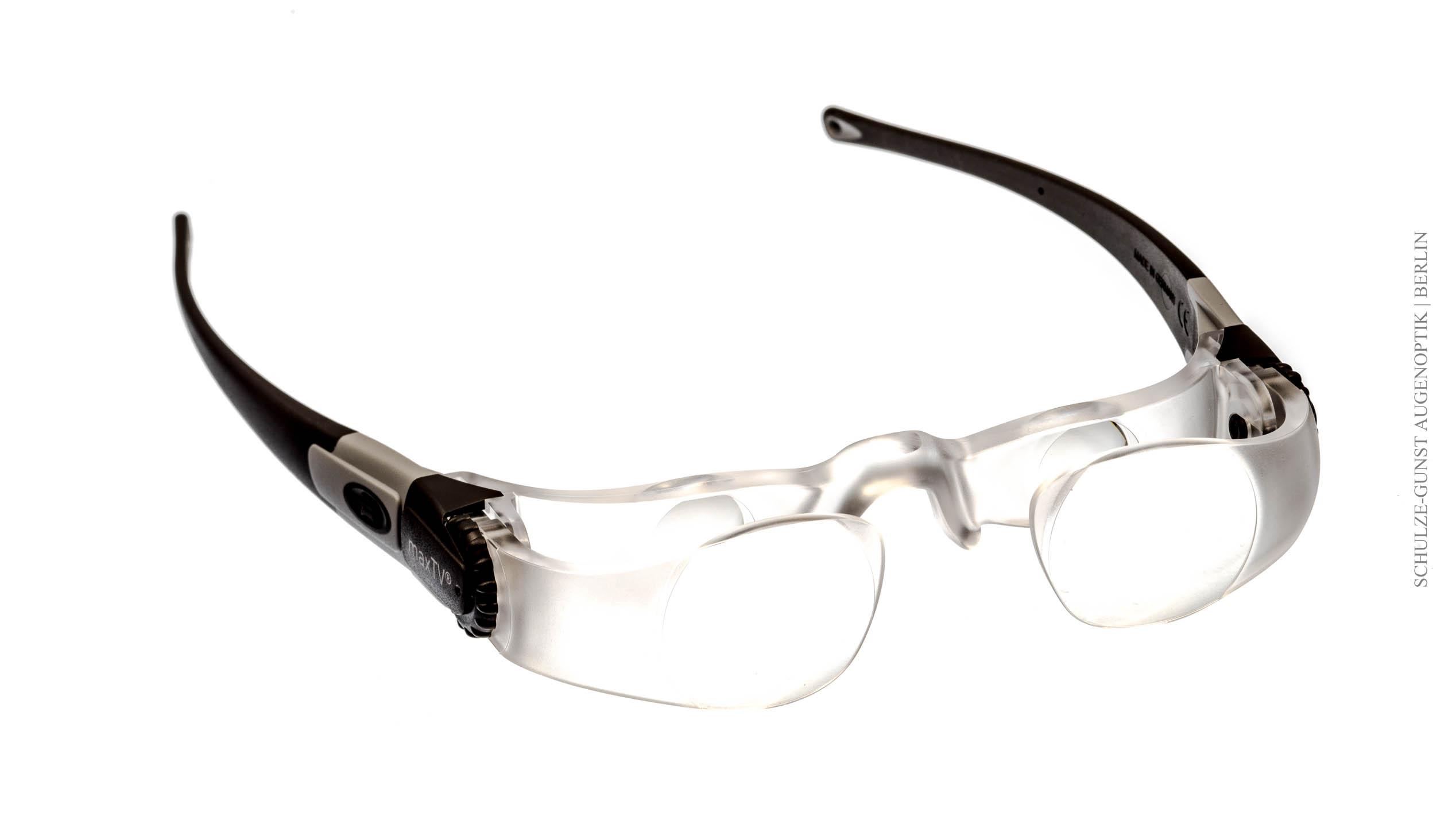 TV-Brille - vergrößernde Sehhilfen